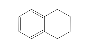 Chemical Structure 1,2,3,4-Tetrahydronaphthalene