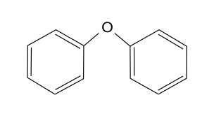 Chemical Structure Diphenyl Ether