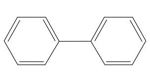 Chemical Structure of Diphenyl