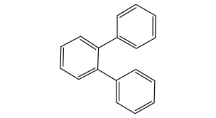 Chemical Structure O-Terphenyl